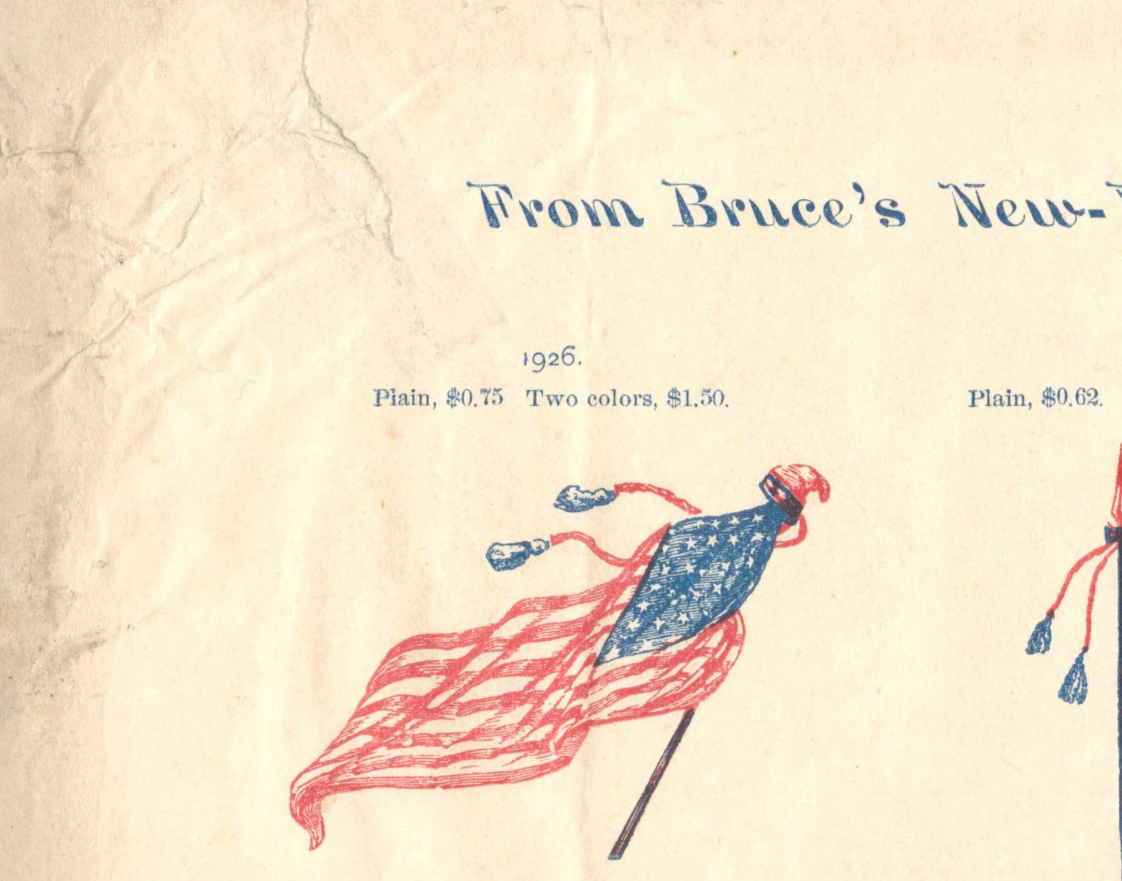 Bruce's New-York Type-foundry, 13 Chambers st , New York