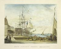 Arch Street ferry, Philadelphia [graphic] / Drawn, Engraved & Published by W. Birch Springland near Bristol Pennsylvania 1800.