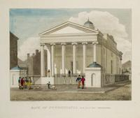 Bank of Pennsylvania, South Second Street Philadelphia [graphic] / Designed & Published by W. Birch Enamel Painter 1804.