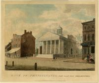 Bank of Pennsylvania, South Second Street Philadelphia [graphic] / Drawn, Engraved & Published by W. Birch & Son Neshaminy Bridge.