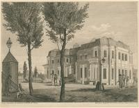 [An unfinished house, in Chestnut Street Philadelphia] [graphic] / Drawn Engraved & Published by W. Birch & Son ; Sold by R. Campbell & Co.No. 30 Chesnut [sic] Street. Philada.
