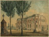 [Artist's study for an unfinished house in Chesnut [sic] Street. Philadelphia] [graphic].