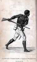Leonard Parkinson, a Captain of Maroons [graphic] / Engraved by Abraham Raimbach.