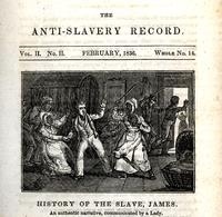 History of the slave, James [graphic].