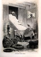 Cotton gin -- Ginning cotton [graphic].