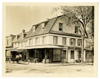 [De la Plaine House], Corner of Germantown Avenue & School Lane [graphic].