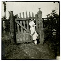[Marrott C. Morris Jr by] Back Gate, Cedar Mer, Sea Girt NJ [graphic].