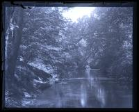Wood scene on [Mana]squan River, below Allaire, [NJ] [graphic].