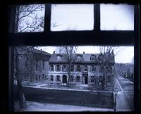 [Fromberger-Harkness House seen from second floor window, Deshler-Morris House] [graphic].