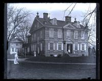 Old Chew House, [Cliveden]. Front view. [Germantown] [graphic].