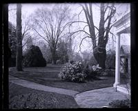 Home lawn from gate [Deshler-Morris House], 5442 G[erman]t[ow]n Ave [graphic].