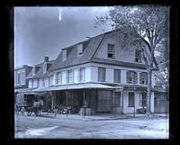 Old [De la Plaine] house, N.E. cor. School Lane & Main St., [Germantown] [graphic].