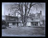 [Deshler-Morris] House from box tree, [5442 Germantown Avenue] [graphic].