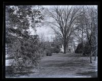 Our house, from top of the yard, [Deshler-Morris House, 5442 Germantown Avenue] [graphic].