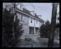 Bartram's House, in Bartram's Garden. From S. (Schuylkill front), [Philadelphia] [graphic].