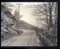 On River Road, Schuylkill R[iver] around Flat Rock tunnel, [West Manayunk, Philadelphia] [graphic].
