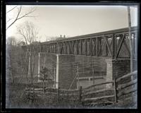 Bridge from top of bank, farther up, [Brandywine, Wilmington, DE] [graphic].