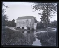 Mill from bridge on road to [Mana]squan, [Sea Girt, NJ] [graphic].