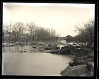 Down Brandywine from 1st dam. Market St. bridge in background, [Wilmington, DE] [graphic].