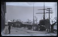 Front St. & the Trinidad at dock from W. Hamiltons, Bermuda [graphic].