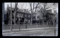 Old Conyngham House & E.I.H. Howell's house. 4634 & 4636 Main St., G[erman]t[ow]n [graphic].