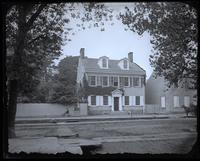 [Copy of Hinkle's picture of Deshler-Morris House, 4782 Main Street. To send with Perot Reunion invitations] [graphic].