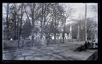 Wyck, Jane Haines' house, no. [blank] Main St. From Dr. Dunton's gate, [Germantown] [graphic].