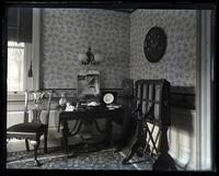 Corner of Little Parlor from parlor door, [Deshler-Morris House, 5442 Germantown Avenue] [graphic].