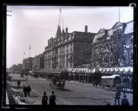 Broad St. looking South from Sansom St. [Constitutional Centennial Celebration, Philadelphia] [graphic].