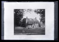 [Copy of Hinkle's picture of Deshler-Morris house 4782 Main St. To send with Perot Reunion invitations] [graphic].