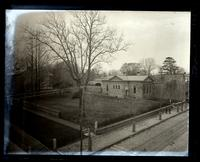 [Friend's] Library & graveyard [5418 Germantown Avenue] from roof of [James S.] Jones' store [5401-5 Germantown Avenue] [graphic].