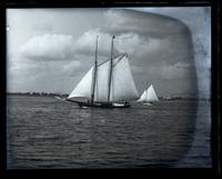 Schooner Helen of Gloucester City. Day after our arrival home from Sea Girt [graphic].