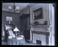 Our library from E. front window, [Deshler-Morris House, 5442 Germantown Avenue] [graphic].