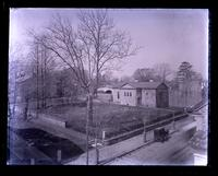 Liberty building, old graveyard & school-house from Jone's roof, [Germantown] [graphic].