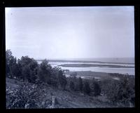 Sandy Hook & Shrewsbury River from hill below [Navesink] lighthouse, [NJ] [graphic].
