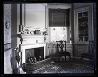 Little Parlor from entry door, [Deshler-Morris House, 5442 Germantown Avenue] [graphic].