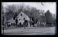 Houses N.W. corner of Main & Upsal Sts. (no. 5352 & 5354 Main St.) [Germantown] [graphic].