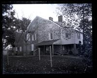 Rear view of old Cedar Grove house [graphic].