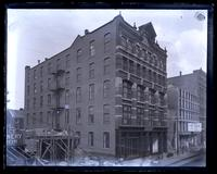 Father's building, 715-17-19 Arch St. from H. Hellers 2nd story window, [Philadelphia] [graphic].