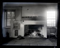 Another view of the old fireplace [in old Morris house at Cedar Grove] [graphic].