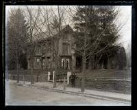 Our old cottage, Church L[ane] & Chew Sts. From near Zell's gate, [Germantown] [graphic].