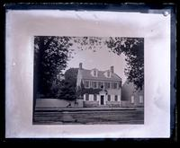 Copy of Hinkle's picture of our [Deshler-Morris] house 4782 Main St. To send with Perot Reunion invitations [graphic].