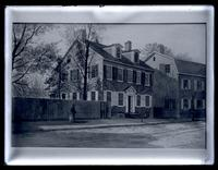 [T.H. Wilkinson painting of Deshler-Morris House, 4782 Main Street, Germantown] [graphic].