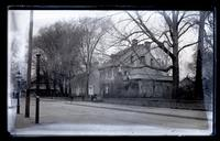Old Littell-Morris house, Main & High Sts., showing also Dr. Dunton's house &c., [Germantown] [graphic].