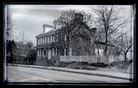 Old houses, Mrs. Billmeyer's, nos. 5345 & 5347 Main St. cor. Upsal, [Germantown] [graphic].