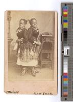 [Portrait of Millie and Christine McCoy] [graphic] / Ollivier, [Photo]. New York.