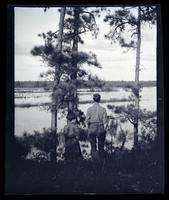 [Couple near a river] Canoeing, Egg Harbor River, NJ [graphic].