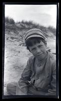 [Marriott Canby Morris, Jr. wearing a cap], Sea Girt, NJ [graphic].