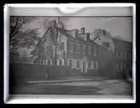 [T.H. Wilkinson painting of Deshler-Morris House, 5442 Germantown Avenue] [graphic].