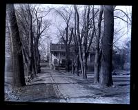 [Roberts Mansion] from avenue of trees toward Main St. [Germantown] [graphic].